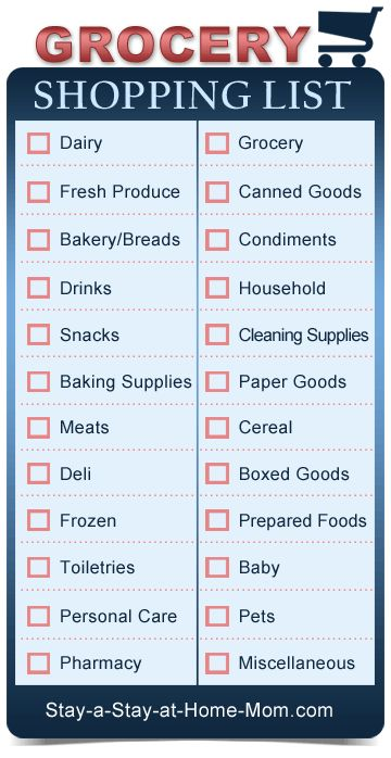 http://www.stay-a-stay-at-home-mom.com/blank-grocery-shopping-list.html Free printable blank grocery shopping lists