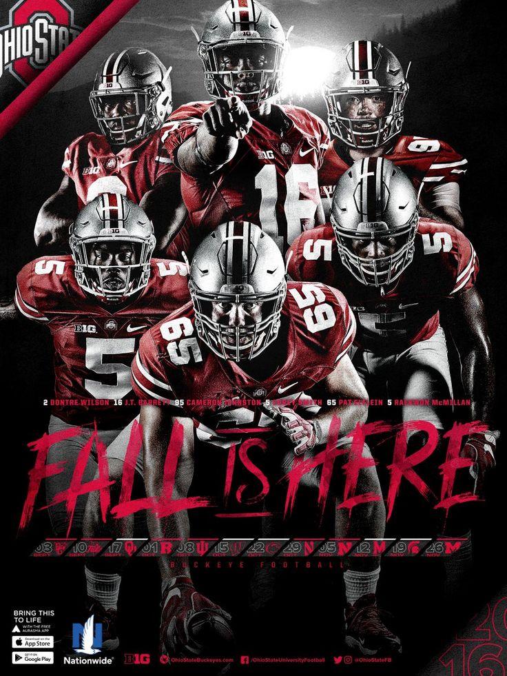 2016 Ohio State Football Poster