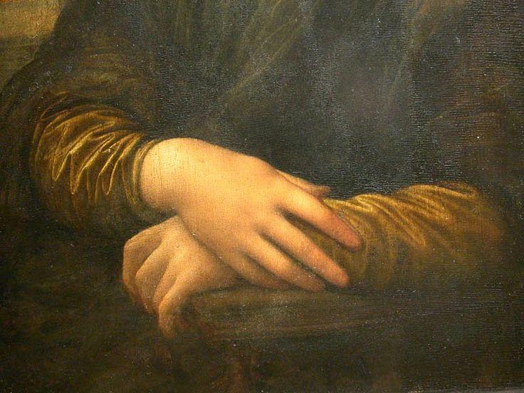 Mona Lisa's hands