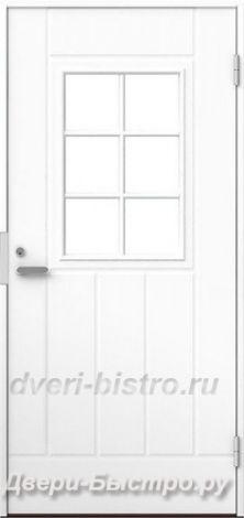 Межкомнатная дверь Входная финская дверь MATTIOVI UOH H26 Белая