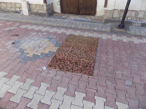 SALE!! 4.9x2.8ft Vintage  handmade Kilim rug,carpet runner,Oushak rug,Bohostly,muted color,Runner rug,traditional ,deco rug Free Shipping!