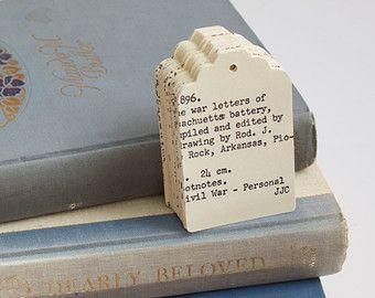 Card catalog as tags