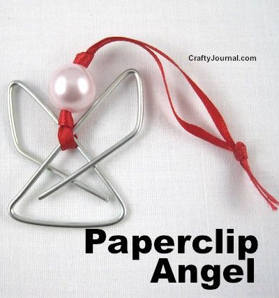 Paperclip Angel by Crafty Journal