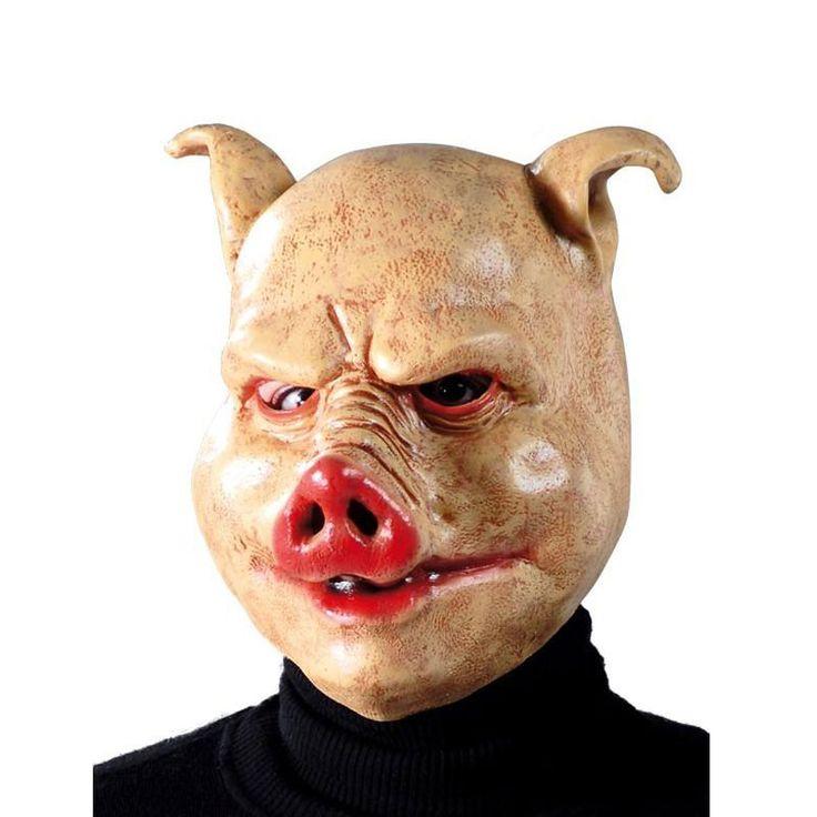 Máscara de Cerdo #mascaras #antifaces #carnaval