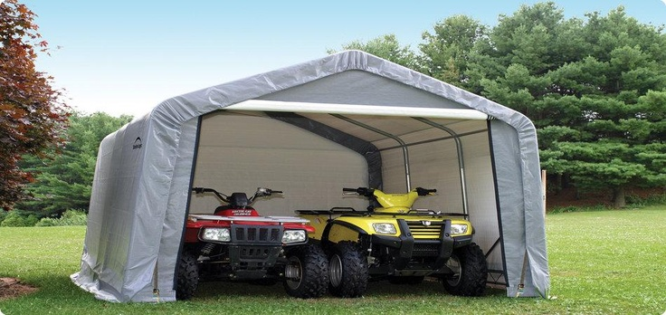 Manufacturer Portable Garages : Best images about portable storage sheds on pinterest