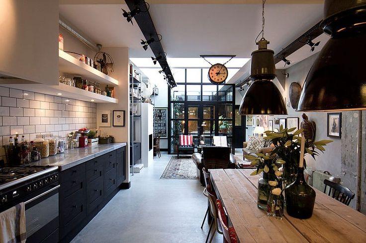 A garage in Amsterdam