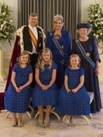 Staatsieportret: de Koninklijke Familie