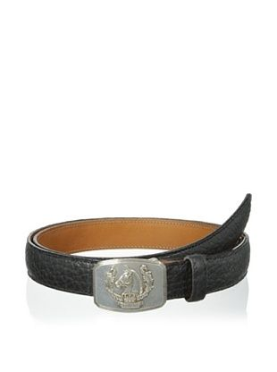 55% OFF Trafalgar Men's Bison Belt (Black)