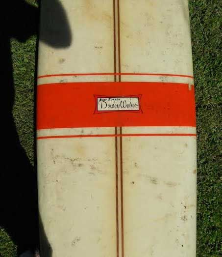 "Used Dewey Weber Longboard - 9'8"" For Sale at Surfboards.com (120401)"