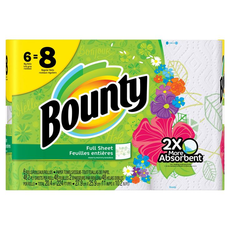research on bounty paper towels Bounty paper towels come with our recommendation from this test and the good housekeeping seal these paper towels proved the strongest of the 19 brands we tested when wet, meaning they'll be.