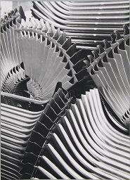 Peter Keetman  German (Wuppertal-Elberfeld, Germany 1916 - 2005 Marquartstein, Germany)  Volkswagen Factory [Front End Plates], 1953  Original Language Title: Volkswagenwerk (Vordere Abschlussbleche)  Photograph