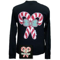 Girlie Girl Originals Christmas Candy Canes Big Bow Long ...