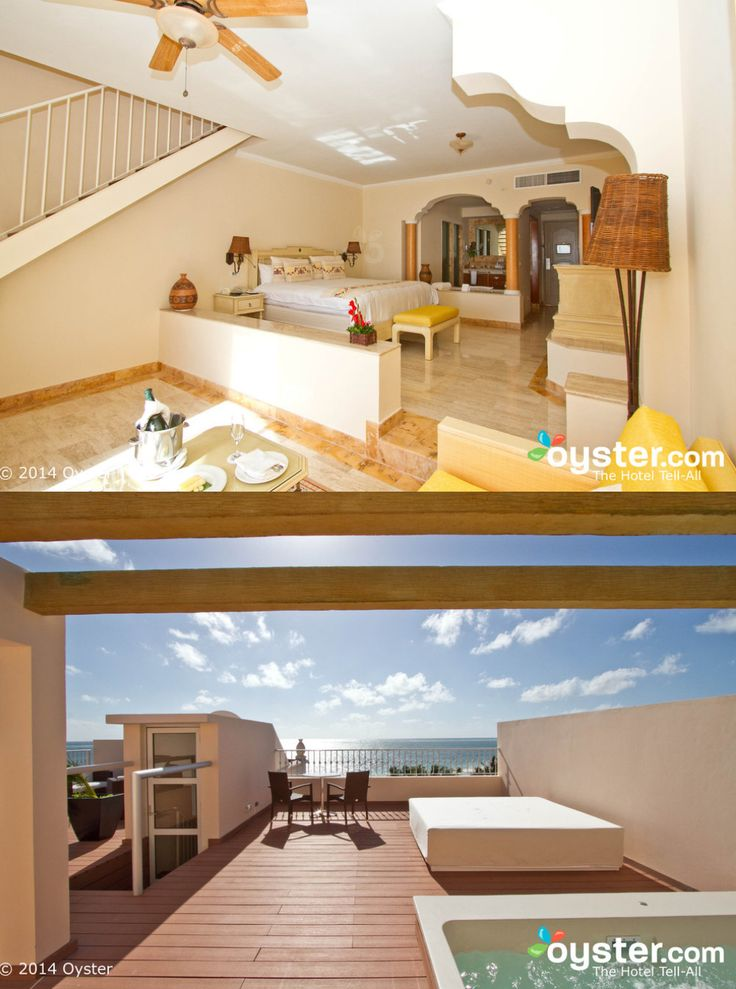 2 Story rooftop terrace suite at Excellence Riviera Cancun. #LuxurySuites #AdultsOnly #RivieraMaya