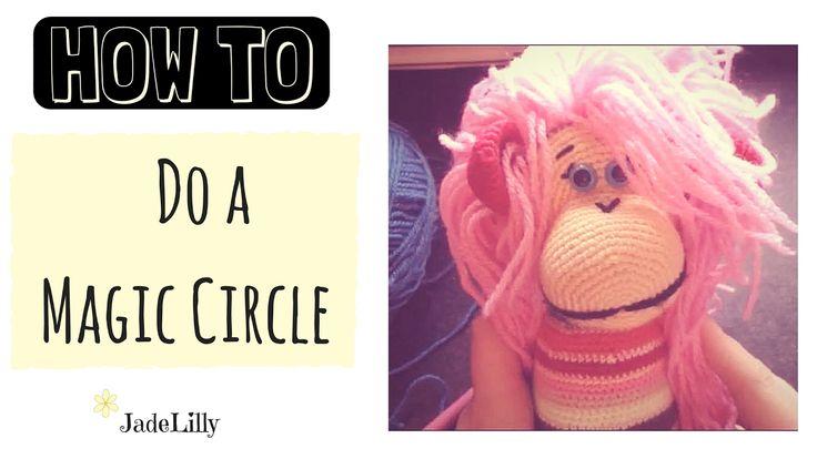 Magic Circle Crochet Tutorial - Jade Lilly Crochet