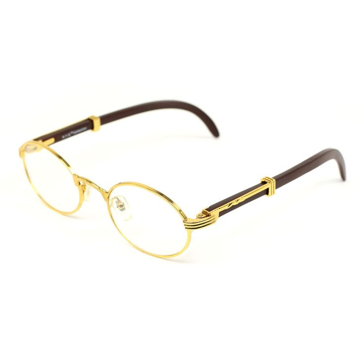 Wood Frame Cartier Glasses : Cartier Inspired Frames*Expect your glasses in 7-14 ...
