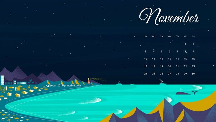 november 2019 hd wallpaper calendar Desktop wallpaper