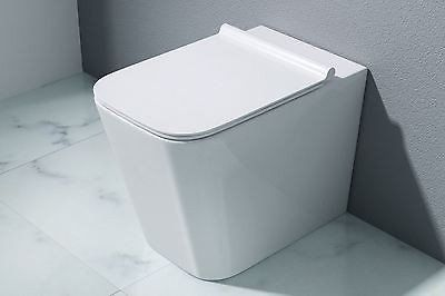 Aachen 7004 Wall Hung Toilet With Soft Close Seat (C42)