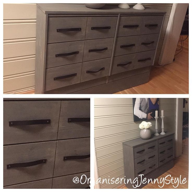 DIY Apothecary Cabinet. Wood and leather. Rustic look. Decor for the hallway. Narrow with lots of storage. Made by OrganiseringJennyStyle, check out @OrganiseringJennyStyle at instagram