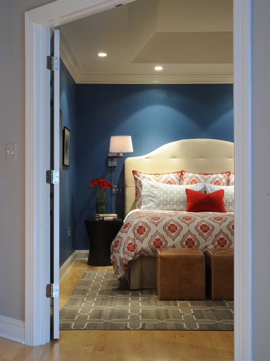 Navy Blue Bedroom Design, Pictures, Remodel, Decor and Ideas