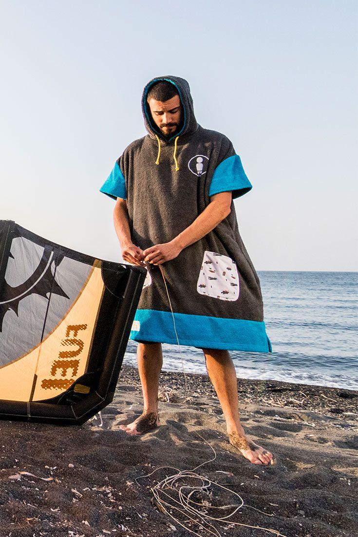 Tiki Surf Poncho