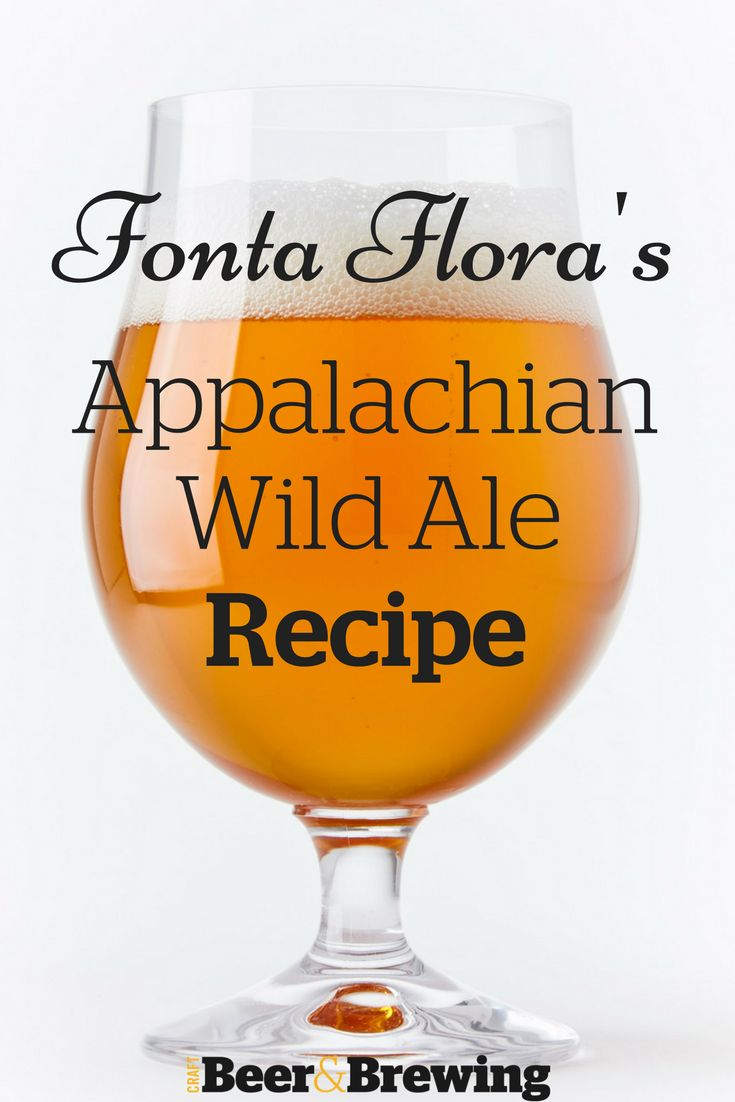 Fonta Flora Brewery's Appalachian Wild Ale Recipe
