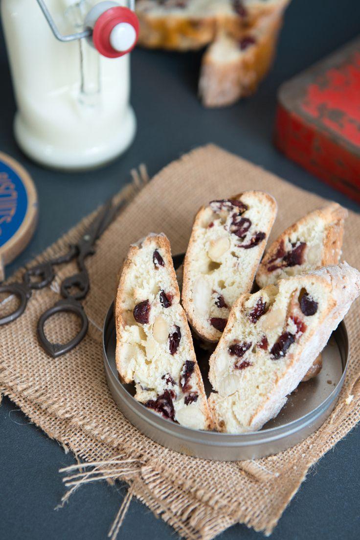 Biscottis aux Amandes et Cranberries - Safran Gourmand