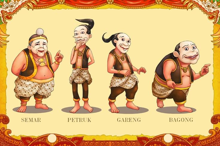 Traditional meets digital, puppetry figures by Marvino @makananjugaseni #art #Indonesia #wayang