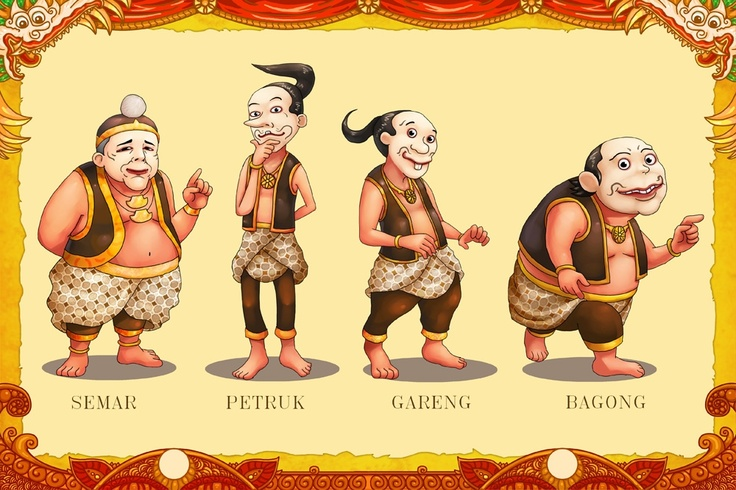 Traditional meets digital, puppetry figures by Marvino @makananjugaseni #art #Indonesia #wayang