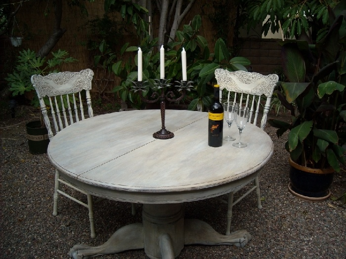 Images about refinishing table on pinterest