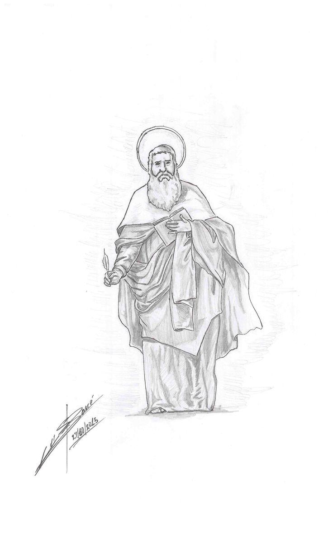 #pencildraw #saintmarcos #drawofsaintmarcos