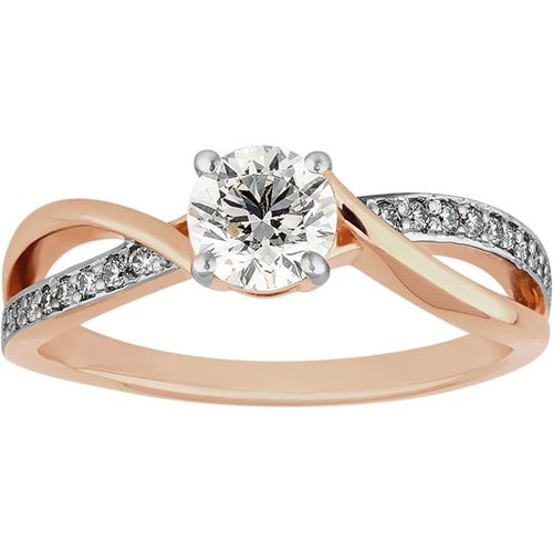 0.63ct Diamond Ring in 9ct Rose Gold