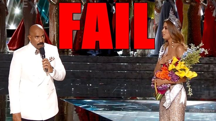 Miss Universe 2015 Host Accidentally Reads Out Wrong Country When Announ...