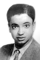 A portrait of young Yasser Arafat, 1940s