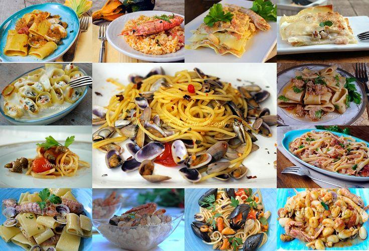Cenone di capodanno primi piatti ricette di pesce vickyart arte in cucina
