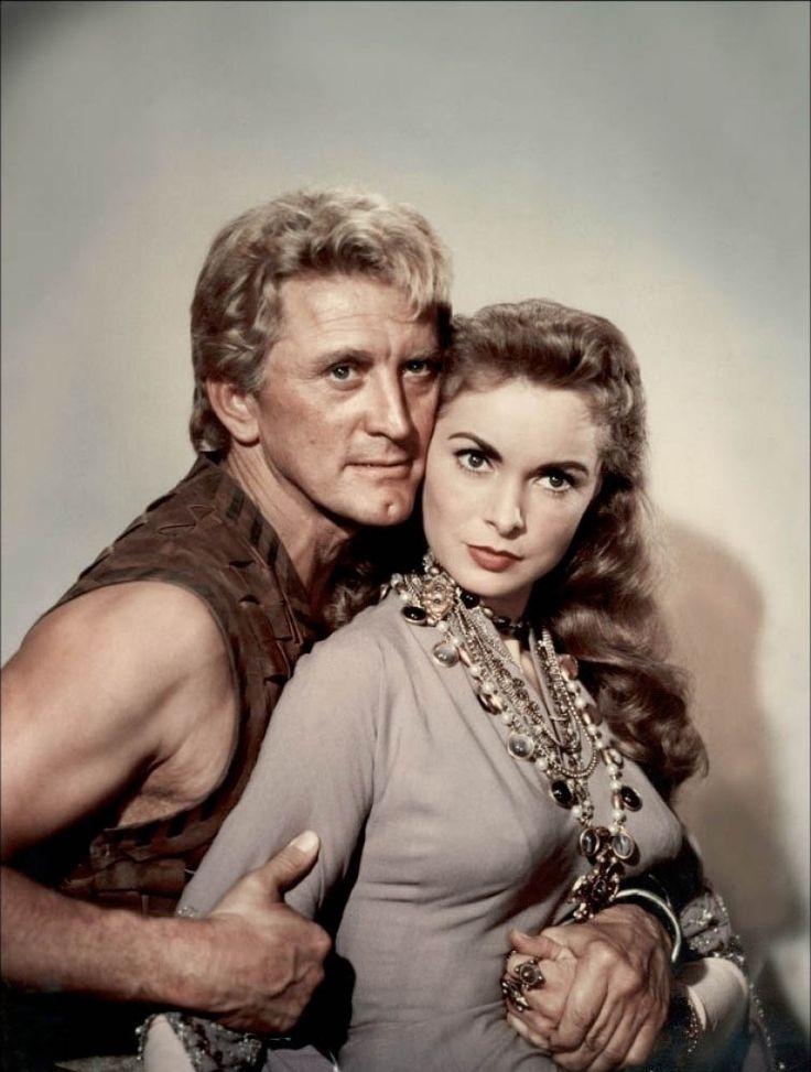Kirk Douglas and Janet Leigh