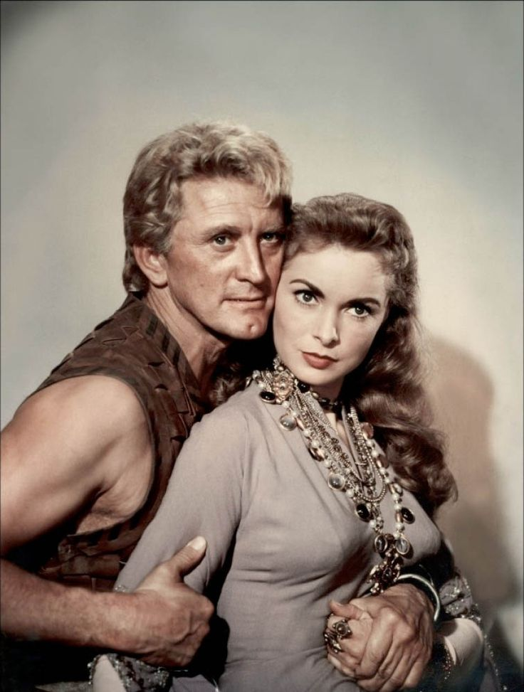 janet leigh and kirk douglas