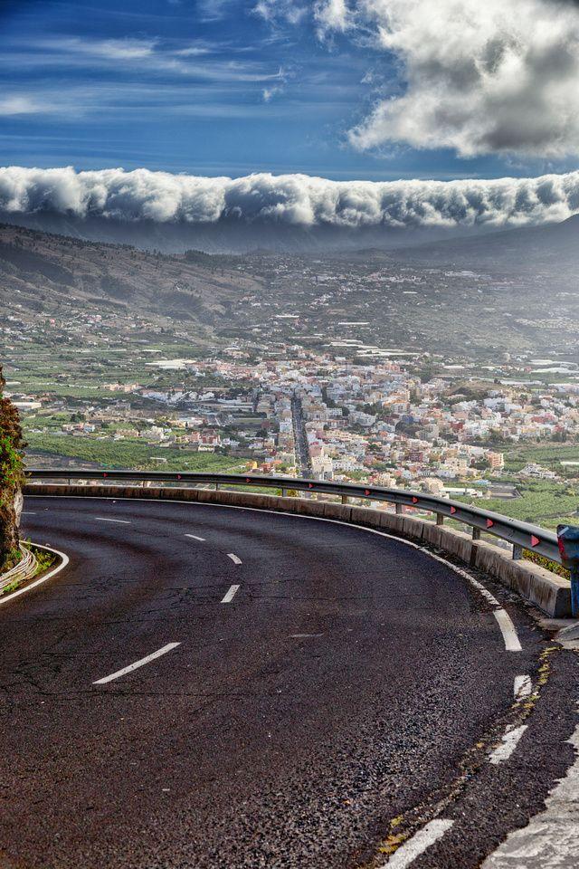 Overlooking Los Llanos, La Palma, Canary Islands.