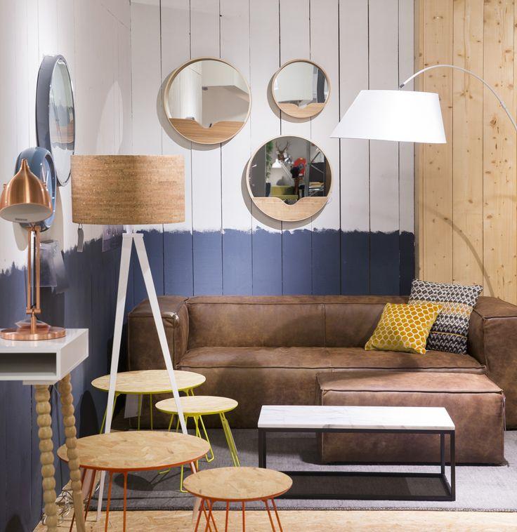 25 beste idee n over lederen banken op pinterest. Black Bedroom Furniture Sets. Home Design Ideas