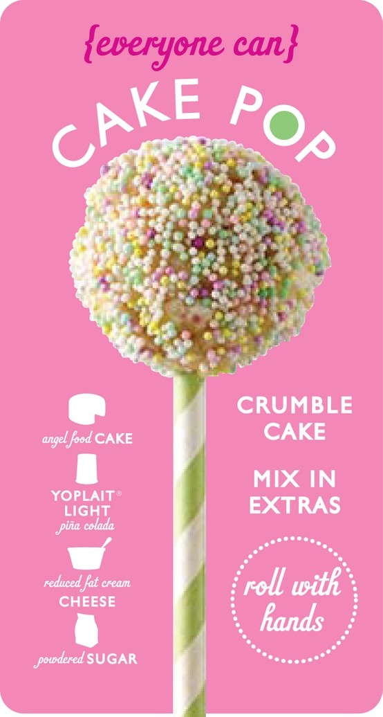 Cake pops don't have to be so difficult! Click for the recipe! http://my.yoplait.com/cakepops