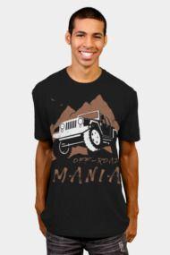 Off-Road Mania Mens T Shirts
