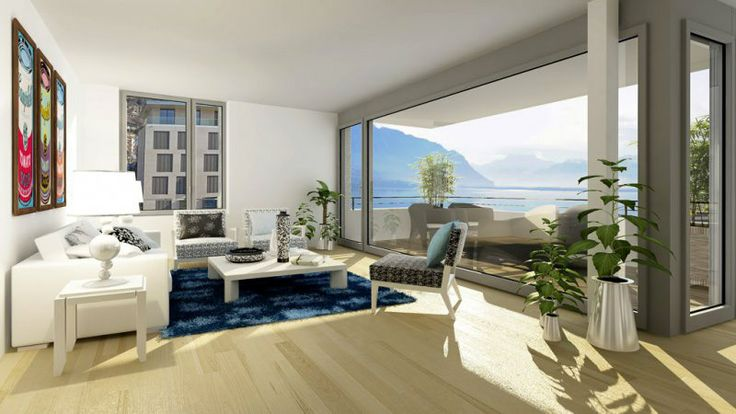 MONTREUX HARMONY Luxury Apartments between Lake and Mountains  Using contemporary architectural trends, Montreux Harmony will comprise 5 condominium buildings and 1 building for letting properties. They will be built on the former site of the Edipresse printing works.