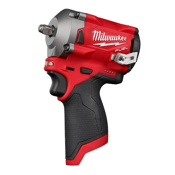 Milwaukee 2554 20 M12 Fuel 3 8 In Stubby Impact Wrench Bare