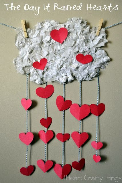 In my imaginary world it would definitely rain hearts just like it did in my favorite Valentines Day book The Day It Rained Hearts. My daughter (age 3) and I have loved reading it this week and we made this fun craft reminiscent of the story. My idea to make this craft originated from a …