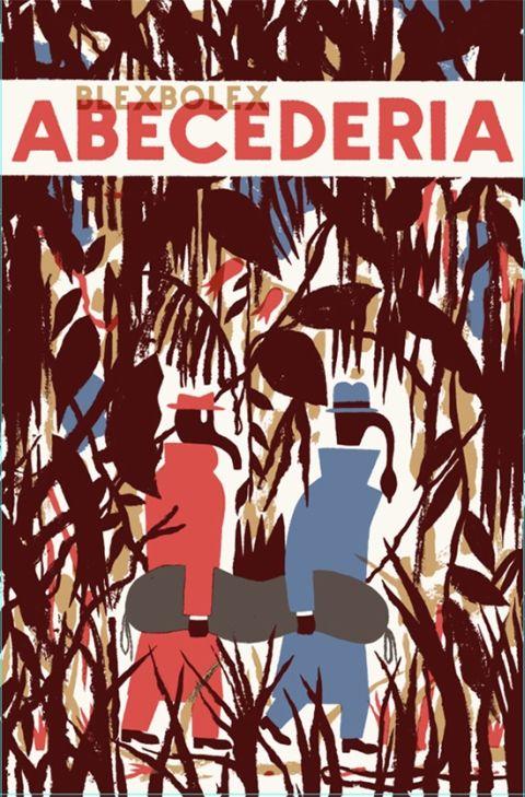 Blexbolex illustrations. Destination Abécédaria Nobrow Press. (cover to the English-language edition of Destination Abécédaria from Nobrow Press)