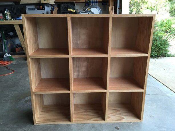 Bookcase Storage Cubby Unit
