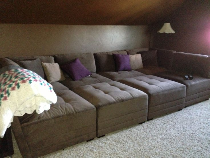 Our New Awesome Home Theater Sofa!