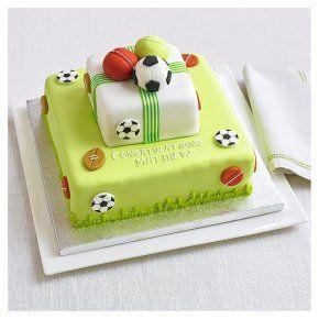 Waitrose Bakery Birthday Cakes