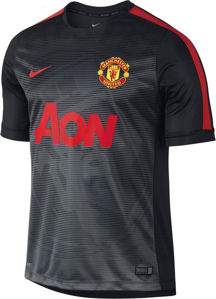 The new Manchester United 2015 Pre-Match Kit is the last Manchester United  Jersey produced by Nike. The Manchester United 2015 Training Shirt is white.