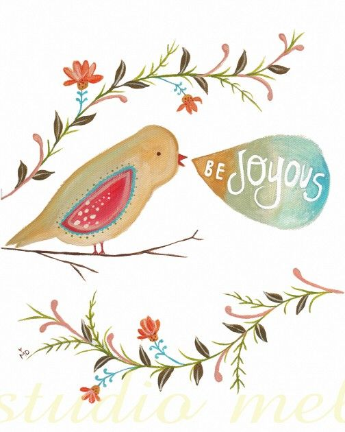 joy: Inspiration, Quotes, Faith, Art, Beautiful, Illustration, Birds