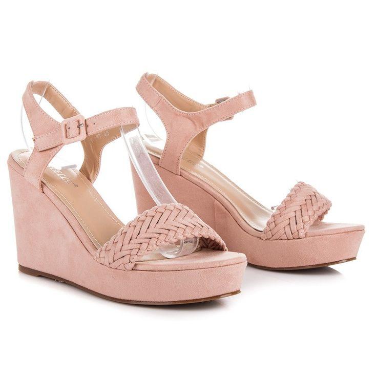 Klinové sandále BEST S-297P
